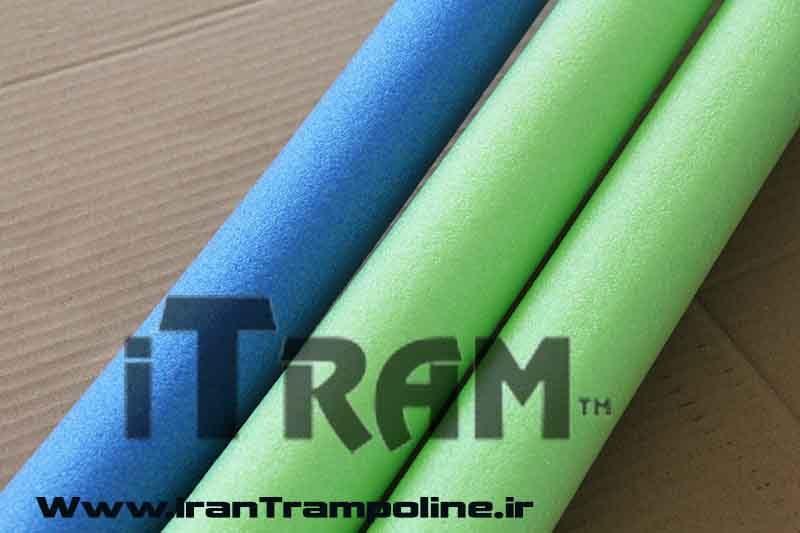 فوم برای ترامپولین در ابعاد و سایز های مختلف با رنگ های متفاوت