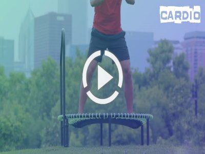 ویدئو های آموزشی ترامپولین تمرینات هوازی با ترامپولین
