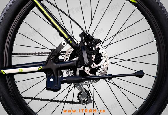چرخ عقب و دنده های دوپرخه اسکورپیون rs270