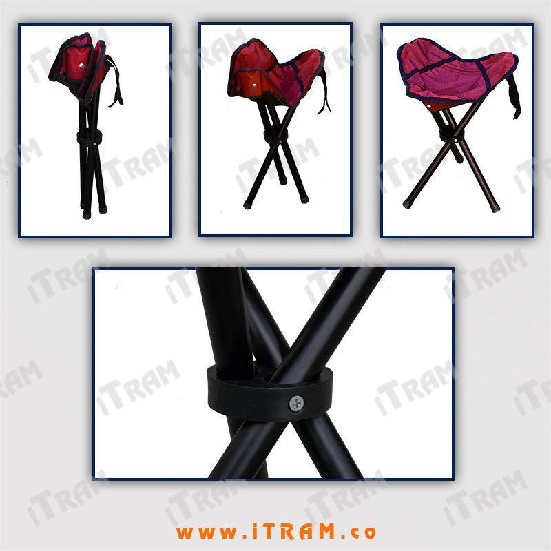 روش بازکردن صندلی سه پایه