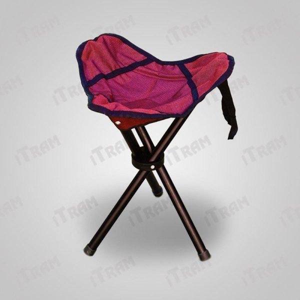 صندلی سه پایه مسافرتی با قابلیت تاشو